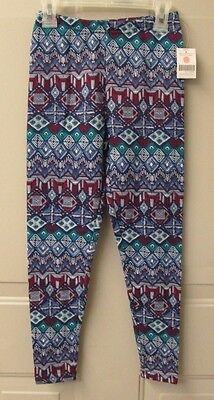 NWT Girl's Extremely Me Geometric Print Leggings  Size 7/8 & 10/12