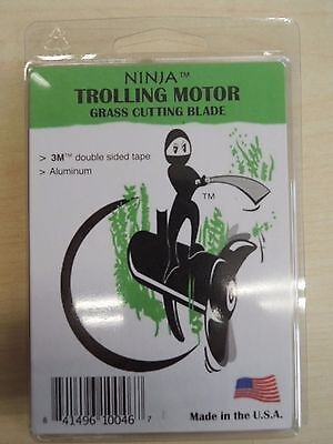 Ninja Grass Blade trolling motor cutting blade EASY INSTALL MADE IN USA