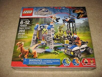 LEGO 75920 Raptor Escape Jurassic World BRAND NEW SEALED