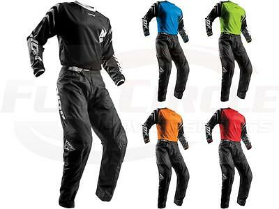 Thor MX Sector Zones Youth Jersey & Pant Combo Set ATV BMX Dirt Bike Riding Gear