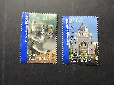 1---2006-- Aust; Greetings  -- -- 2  Stamps--A1  Used