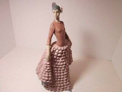 Lladro Figurine # 6163 Fiesta Dancer Retired Mint Very Rare Collectible