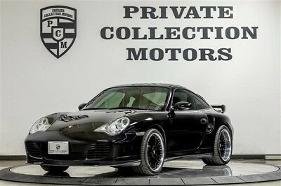 2002 Porsche 911  2002 Porsche 911 Turbo 6 Speed Clean Carfax Original Miles Well Kept