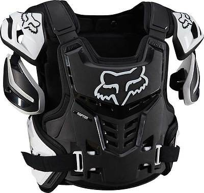Fox Racing / Raptor Vest Ce /  Black / White / Large / Xlarge / Motocross