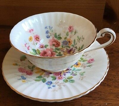 Paragon Bone China Floral Teacup And Saucer Tea Cup Rose
