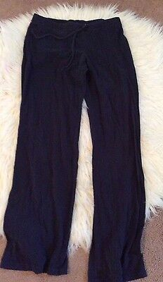 Gap Maternity Sleep Pants Lounge Navy Blue Body Small Comfy Cozy