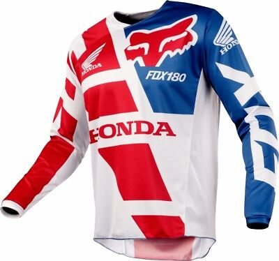 2018 Fox Mens MX 180 Honda Jersey Red
