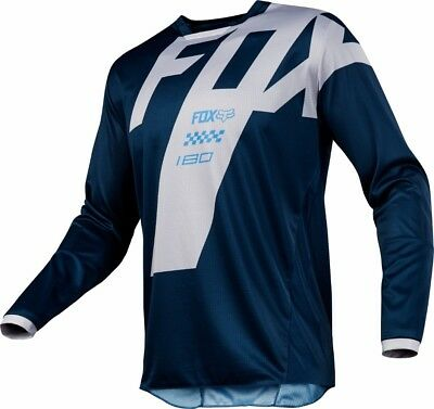2018 Fox Mens MX 180 Mastar Jersey Navy