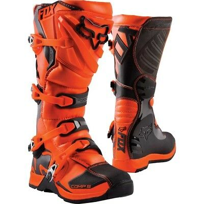 2018 Fox Youth MX Comp 5 Boot Orange