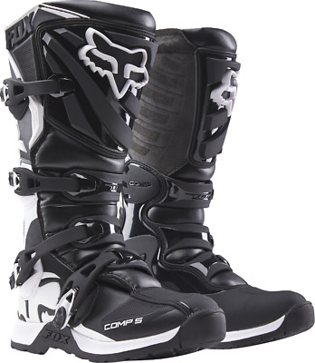 2018 Fox MX Womens Comp 5 Boot Black/White