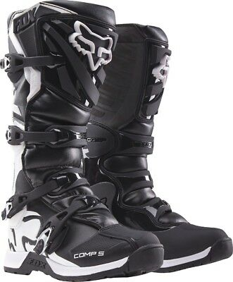 2018 Fox Mens MX Comp 5 Boot Black