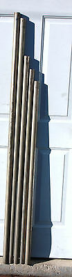 Set of 5 Tubes For Herschede Grandfather Clock - Parts only