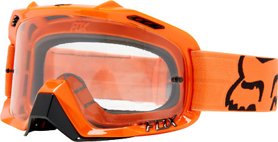 2018 Fox Mens Air Defence Race Goggle Orange