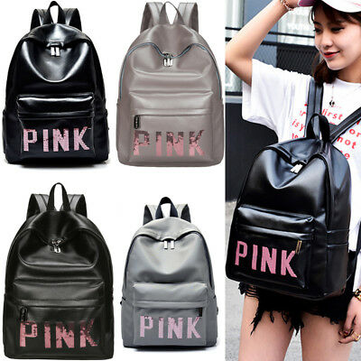 US 2017 Women leather backpacks travel bag school bags backpack students bags