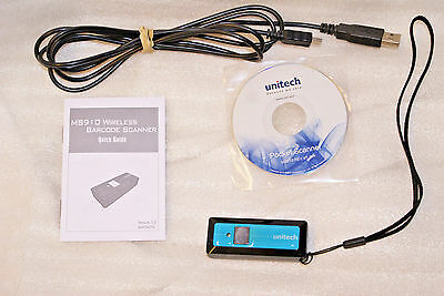 UNITECH MS910-CUBB00-SG BARCODE SCANNER UPC Cordless Bluetooth HID USB Cord