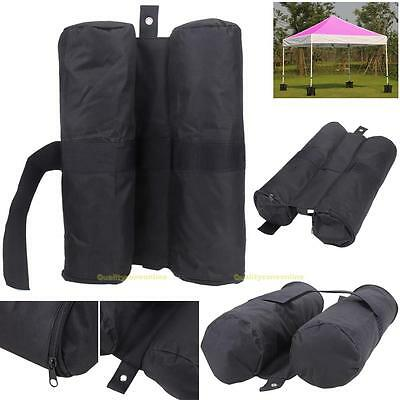 4pcs Leg Weights Feet Sand Bags For Pop Up Canopy Patio Gazebo Outdoor Tent New