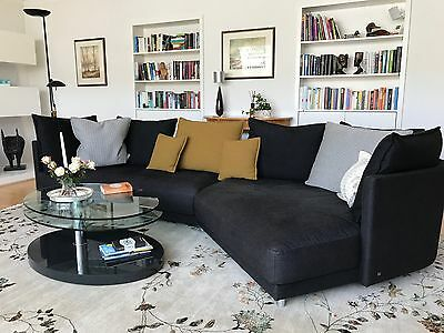 rolf benz ecksofa sento 433 sofa mit recamiere links stoff. Black Bedroom Furniture Sets. Home Design Ideas