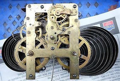 WATERBURY CLOCK CO. USA - Vintage / Antique Movement, WORKING