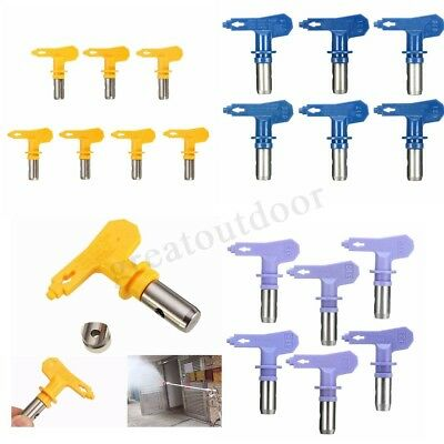 Airless Spray Gun Nozzle Tip For Titan Wagner Paint Sprayer 2/3/4/5/6 Series UK
