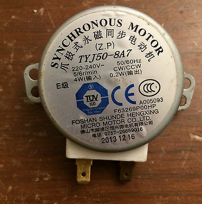 Genuine TYJ50-8A7 Foshan Shunde Microwave Oven Turntable Synchronous Motor 240V