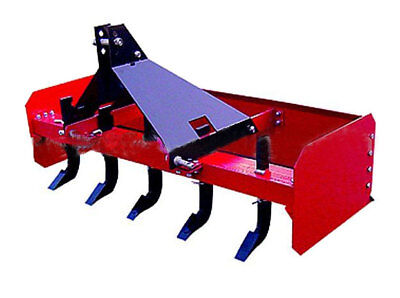 Box Grader Blade Levelling Scraper 6Ft 6 Rippers For Tractor 3 Point Linkage