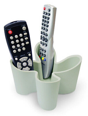 Grey Cozy Remote Control Tidy by J-Me