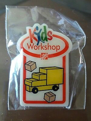 New The Home Depot Kids Workshop Moving Truck Pin