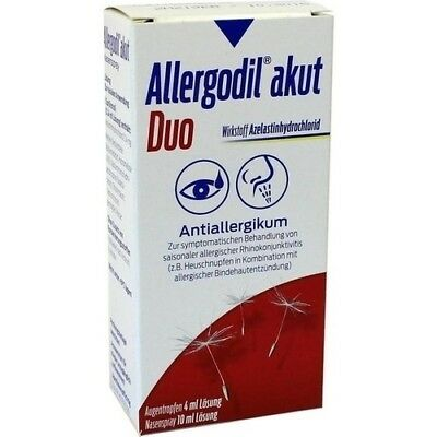 ALLERGODIL akut Duo 4ml AT akut/10ml NS akut 1 St MEDA Pharma GmbH & Co.KG