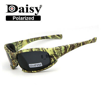 Polarized Daisy X7 Army Camouflage Shooting Sunglasses Motorcycle Riding glasses