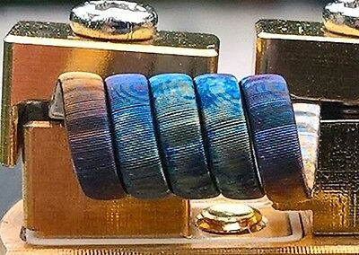 2 Framed Staple Coils V2,Handmade,0,16 Ohm single, 7*KA1 Ribbon+2*26Ga+40Ga Ni80