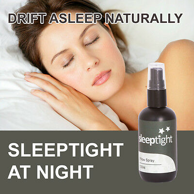 Sleep Tight Sleeping Pillow Spray Improve Relaxation Deep Sleep Max Strength