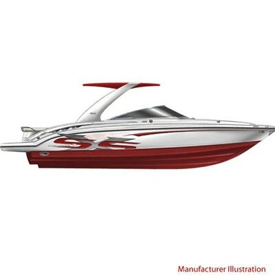 Chaparral Boat Hull Graphic 14.00393 | SSX 236 Red (4 Pc Set)