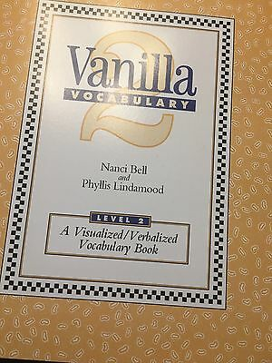 LindaMood-Bell vanilla vocabulary book new