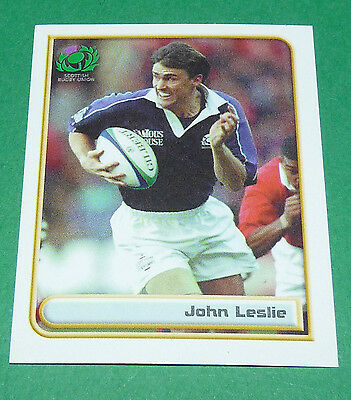 N°31 Leslie Scotland Ecosse Merlin Rugby World Cup 1999 Panini Coupe Monde