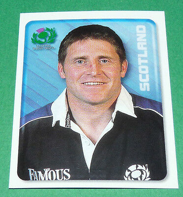 N°48 Alan Tait Scotland Ecosse Merlin Rugby World Cup 1999 Panini Coupe Monde