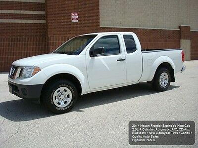 2014 Nissan Frontier King Cab S 2014 NISSAN FRONTIER EXTENDED KING CAB 1 OWNER FLEET MAINTAINED BLUETOOTH CARFAX