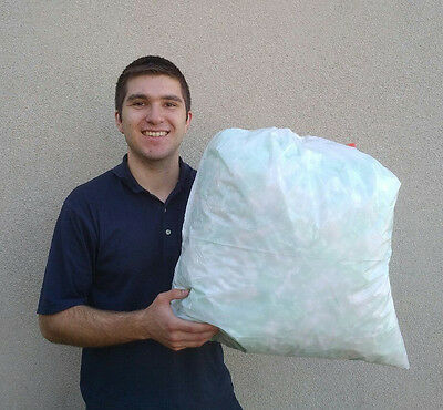 Packing Peanuts Popcorn - 2 Cubic Feet 18 Gallons - Recycled
