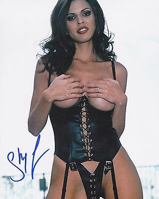 """Shy Love    Signed  8x10"""" Photo  122352"""