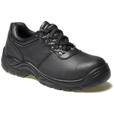 Dickies Mens Clifton Safety Shoes Black Size 13
