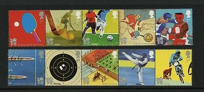 GB 2010 Olympics & Paralympics London 2012 Set MNH