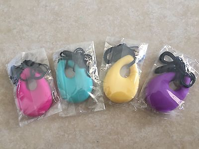 Babies, teething,Wholesale pack,X 4,Teardrop,Silicone bead,Chewable,necklace