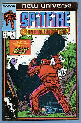 Spitfire and the Troubleshooters #2 1986 New Universe