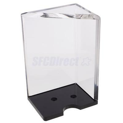 8 Deck Casino Blackjack Dealer Clear Discard Tray for Poker Card Player Tool