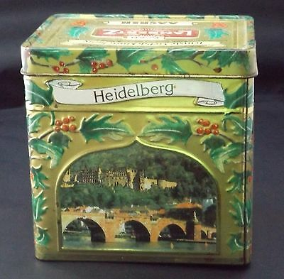 LAMBERTZ GERMAN MOTIFS DECORATED BISCUIT TIN  Musical - Christmas
