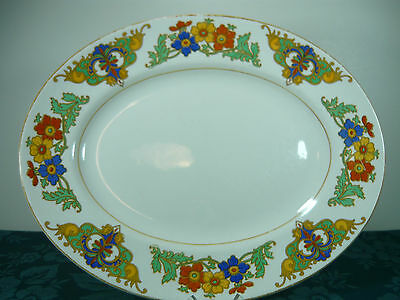 John Maddock & Son Ivory Ware Serving Plate
