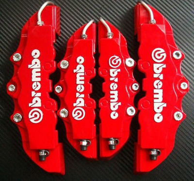 4pcs New Stylish 3D Brake Callipers Car Covers Universal High Quality Material