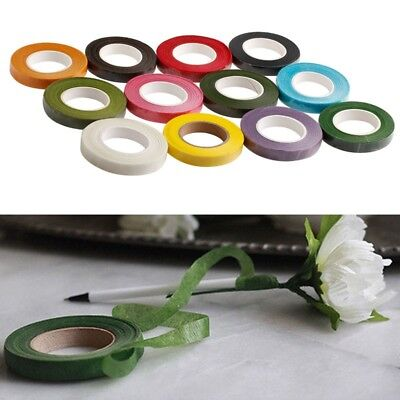 2XBLACK Parafilm Wedding Bouquet Craft Florist Stem Wrap Floral Tape  1.2cm*27m