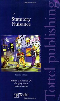Statutory Nuisance by James Pereira Paperback Book The Cheap Fast Free Post