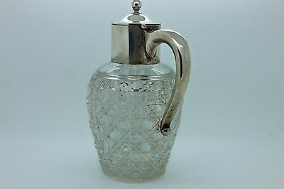 Antique Original Perfect Silver Crystal European Amazing Caraf