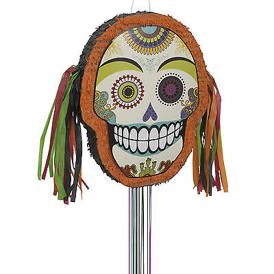Halloween Dia De Los Muertos Day Of The Dead Party Pull Pinata Game Decoration